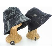 【新作商品】17柄より選べます♪オシャレなコットンの和柄プリントの帽子!2870