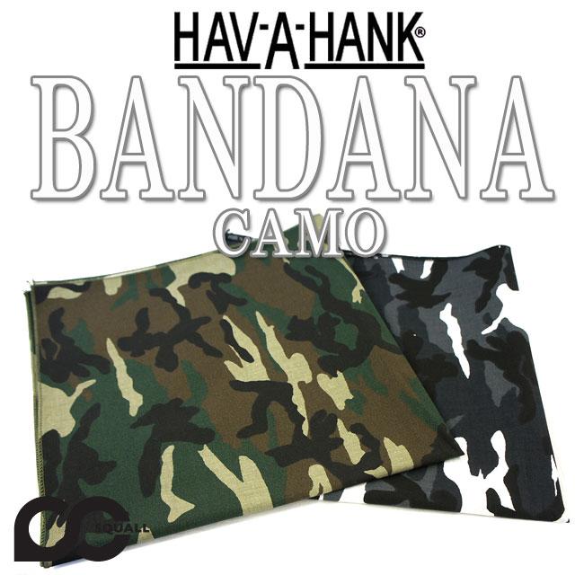 HAV-A-HANK CAMO BANDANA  12113