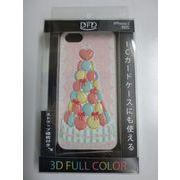 【iPhone5 対応】DFD iphoneケース 3Dフルカラー ツヤありの光沢ある仕上がり マロンタワー パステル
