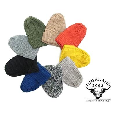 【2017AW商品入荷致しました】 HIGHLAND2000 ウールニットキャップ ハイランド ニット帽