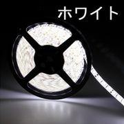 LEDテープライト/5050型チップ/ホワイト/5M/300発/IP44防水