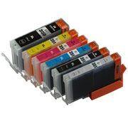 Canon互換インク BCI-351XL(BK/C/M/Y/GY)+BCI-350XL 6色マルチパック大容量 BCI-351XL+350XL/6MP
