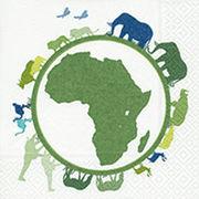 Paper+Design ペーパーナプキン アフリカ×動物