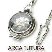 ARCA FUTURA 懐中時計 手巻き スケルトン 5049CPSK メンズ
