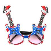 ファニーグラス ギター IN USA 【 仮装 コスプレ サングラス 面白サングラス 】
