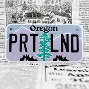 好きな文字にできるアメリカナンバープレート(小・自転車用サイズ)オレゴン