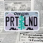 好きな文字にできるアメリカナンバープレート(中・USバイク用サイズ)オレゴン