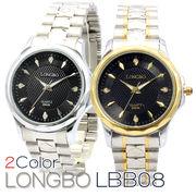 LONGBO メンズ 腕時計 LBB08