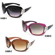 【新製品】セルフレームサングラス(UVカット)X-533