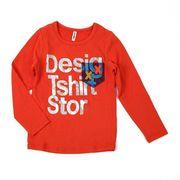ロングTシャツ 100cm ~140cm全2色