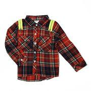 シャツ(長袖) 100cm~140cm 綿100%