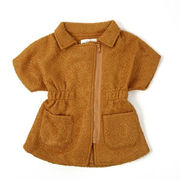 モヘア素材コート(半袖)
