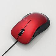 エレコム 静音有線マウス(5ボタン) M-BL25UBSRD