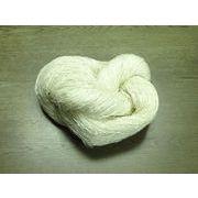 コットン糸(綿糸) Cotton ビスコース加工 生成り