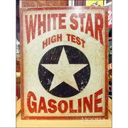 アメリカンブリキ看板 ホワイトスターガソリン