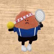ビーンワールド ぬいぐるみS テニスビーン(男)