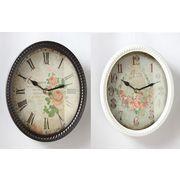 ローズオーバル時計
