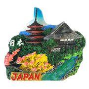 お土産JAPANマグネット NEWお寺 《外国人観光客向け日本土産》