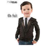 FAUX REAL Toddler 60's Suit  13479