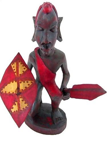 マサイの戦士