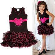 キッズドレス キラキラ星  コスプレ 子供 女の子 メルヘン ウィッチ ブラック 衣装 コスチューム