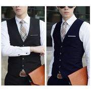 高品質スーツベスト  結婚式メンズ ビジネス 通勤オールシリーズ紳士 チョッキ 二次会 リクルート 礼服
