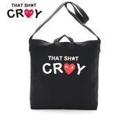 Shopaholic THAT SHI*T CRAY トート ショルダー クラッチ 3WAYバッグ