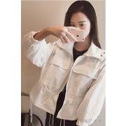【初回送料無料】ファッションセクシートップス◇ホワイト/オレンジ2色♪too-bl6833-203