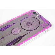 ボヘミアンiPhone6/6Sケース(フェザーパープル)