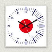 MYCLO 「世界の国旗」シリーズ時計 01 日本