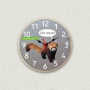 MYCLO 「アニマル」シリーズ時計 13 レッサーパンダ オリジナル 文字盤時計