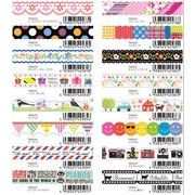 ナミナミ・マスキングテープ【6月下旬新発売】16柄 単品の販売も御座います