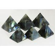 【置き石】ピラミッド型 約20mm ラブラドライト ※ネコポス不可※