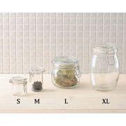 【手作り雑貨】グラスジャー スパイスポット Glass jar spice pot◆ガラス容器/瓶