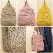 ★【SALE/値下げ】★【Cotton Lace Marchais Bag】コットンレース♪マルシェバッグ♪