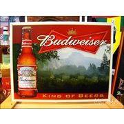 アメリカンブリキ看板 バドワイザー King Of Beer