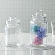 【手作り雑貨】グラスジャー ヴァーティカル Glass jar vertical◆ガラス容器/瓶