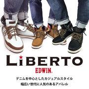 LiBERTO EDWIN(リベルト エドウィン)ハイカットスニーカー60246