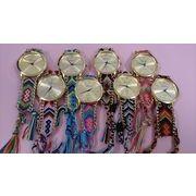 ミサンガ時計 8色/編み込みウォッチ 大人気!夏にピッタリカワイイ時計1個から販売可