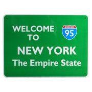 トラフィックサインボード NEW YORK THE EMPIRE STATE 95