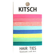 Kitsch(キッチュ)Frosted Mini Sweets ヘアアクセ8本セット/ヘアゴム/ブレスレット/Hair Ties
