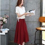 2016夏★新しいデザイン★上下着★2点セット★タンクトップ+スカート