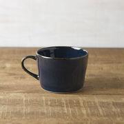 北欧ブルー 深ブルー コーヒーカップ[美濃焼]