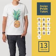 イラストプリント Tシャツ