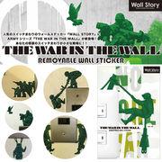【ウォールステッカー インテリア】THE WAR IN THE WALL2 アーミー ミリタリー シール