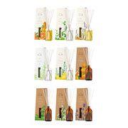 消臭・芳香剤(リードディフューザー)木と果 9種の香り (天然精油100%使用)90ml/日本製