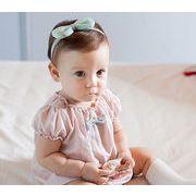 ★赤ちゃん ヘアアクセサリー★ヘアバンド リボン柄赤ちゃんの髪飾り