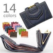 BLHW137832◆送料0円◆多機能・豊富カラー・本革・レディース 財布 全14色