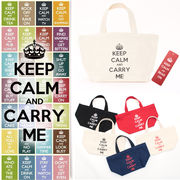 Keep Calm & Carry Me Tote Bag トートバッグ エコバック