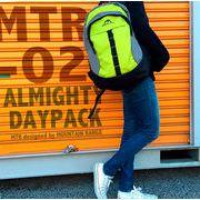 リュックサック 仕分け収納が便利!優秀バッグ 鮮やかなカラー